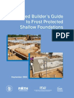 Frost Protected Shallow Foundation - Builder's Guide
