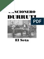 Elseta Cancionero Durruti