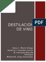 Destilación de Vino (1)