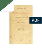 Introduccion a Las Memorias Militares y Hoja de Servicios 1884 0