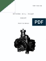M80 Oil Pump Manual