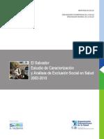 Estudio de Caracterizacion y Analisis de Exclusion Social en Salud 2002-2010