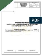 End-pr-irt-04 Procedimiento Rt Asme b31.8 - 2010