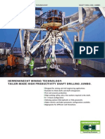 Shaft Drilling Jumbo SDJ DB GB 20130205