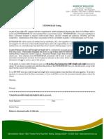 fitnessgram parent letter 2015