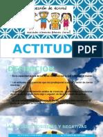 Diapositivas de Actitudesx