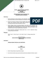 UU No. 18 Tahun 1999 Tentang Jasa Konstruksi