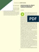 Artigo - Desigualdade de genero e raça no mercado de trabalho brasileiro