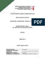8. Manual de Prácticas Quimica Clinica II