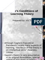 Gagne's Theory