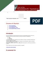Estrutura de Repetição MikroC