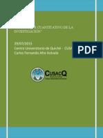 Ensayo Enfoque Cuantitativo de La Inv.