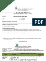Planeacion Secundaria 2014-2015 Asignatura Estata