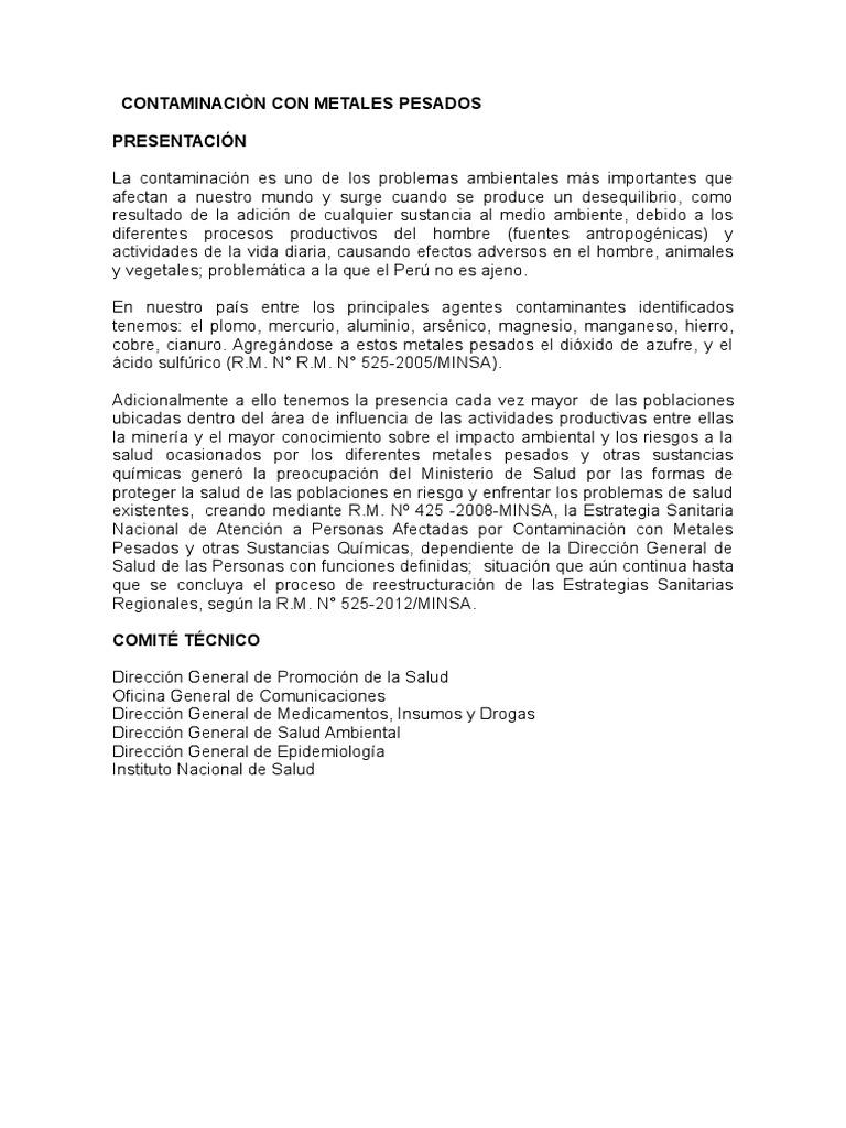 Contaminacin con metales pesados urtaz Image collections
