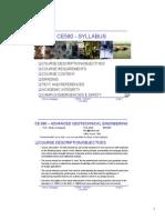Syllabus Lecture 2015