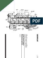 diagrama  motor 3126 A