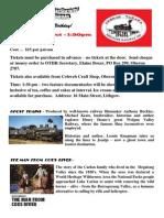 OTHR Film Night Flyer