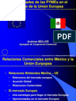 Opórtunidades Pyme en UNión Europea. COmisión Europea en México