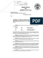 Jersey City Ordinance 10-127