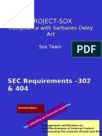 Sify Sox Familiarization