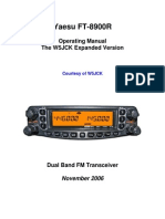 Yaesu FT-8900R Manual w5jck Expanded Version