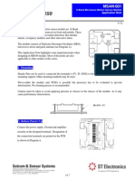 HB100 Microwave Sensor Application Note