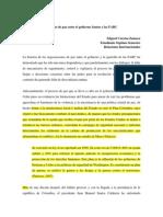 Analisis Dialogos Paz Habana