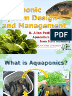 Aquaponic System Design and Management