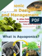 Aquaponic System Design and Management