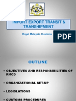 2 ExportTransitTranshipment Procedures