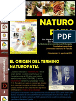 Conferencia Naturopatia Reducida Agosto 2015
