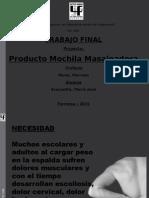 María José Mochila Masajeadora