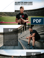 Julian Edelman Receiver Workout