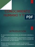 EPISTEMOLOGIA-CONOCIMIENTO