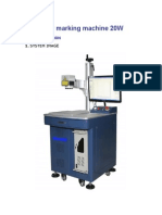 Fiber Marking Machine 20W