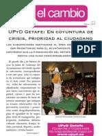 Boletín Informativo de UPyD Getafe
