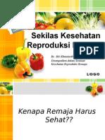 Bedah Buku Kesehatan Reproduksi