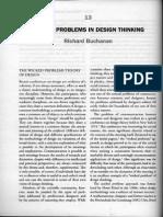 RICHARD BUCHANAN - Wicked Problems in Design Thinking