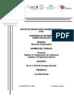 Resumen Cap. IV y v Luis Mar Roman