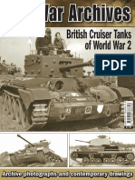 British Cruiser Tanks WW2
