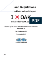 Oakland Airport Rules and Regulations