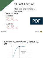 ECE 1312 IIUM L16 FET DC Analysis