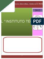 Diagnóstico Institucional Instituto Técnico Saúl Zelaya Jiménez