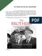 LOS HERMANOS (Jhon and Allen Dulles) - Stephen Kinzer
