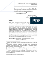[Artigo] Estudos Sobre Sexualidade, Sociabilidade e Mercado (Regina Facchini Et All)