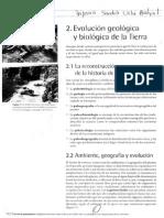 Evolución Geológica y Biológica de La Tierra (1)