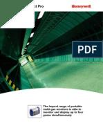 Honeywell Gas Detector Impact Pro (in English)