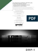 Drp1 Usermanual Updated PDF