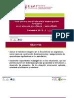 Investigacion Formativa 2015 _gestion de Personas