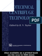 Geotechnical Centrifuge Technology